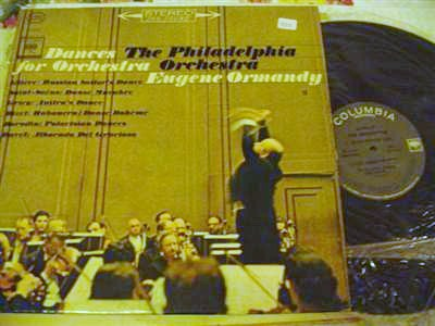 EUGENE ORMANDY - DANCES FOR ORCHESTRA - COLUMBIA