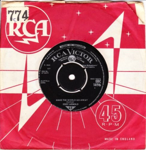 Eddy Arnold - The Easy Way - RCA Irish 3531