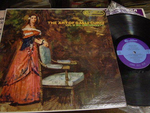 Amelita Galli Curci - The Art of Vol.2 - RCA Camden CAL 525