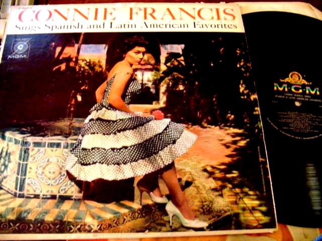 CONNIE FRANCIS - SINGS SPANISH LATIN - MGM { F 32