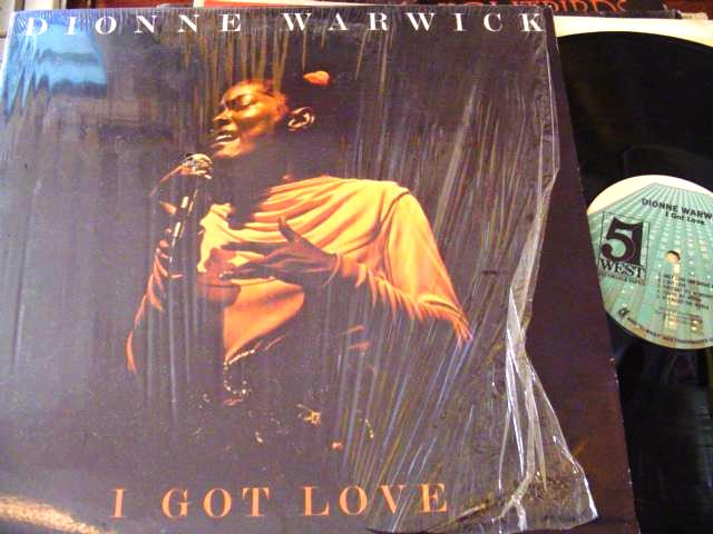 DIONNE WARWICKE - I GOT LOVE - 5 WEST RECORDS { F 41