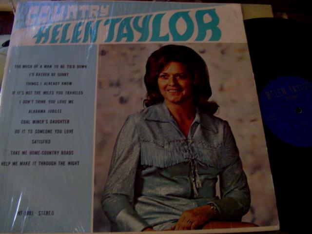 HELEN TAYLOR - COUNTRY - HT RECORDS { F 59