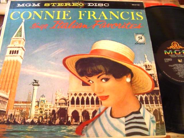CONNIE FRANCIS - SINGS LATIN FAVOURITES - MGM { F 34