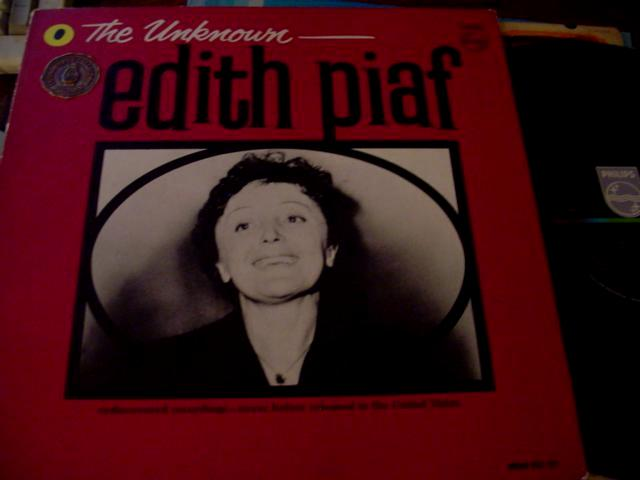 EDITH PIAF - THE UNKNOWN - PHILIPS - F 63