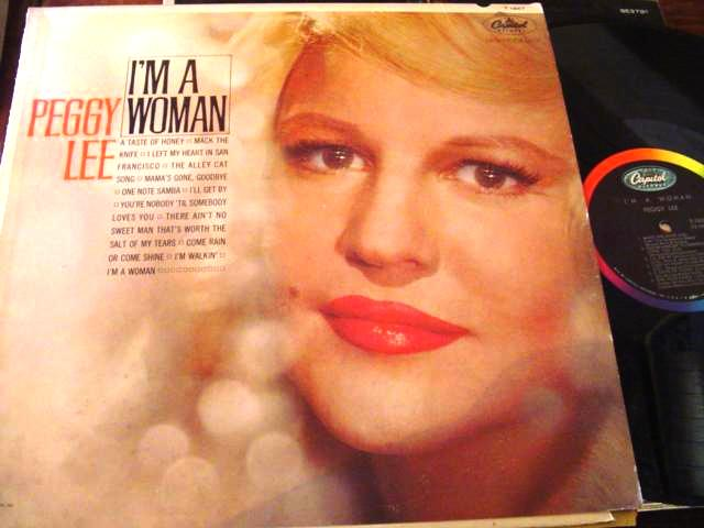 PEGGY LEE - I AM A WOMAN - CAPITOL { F 35