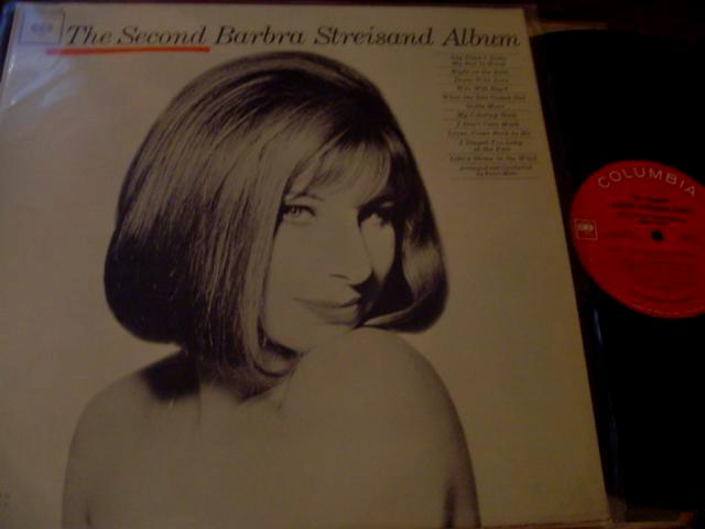 BARBARA STREISAND - SECOND ALBUM - COLUMBIA { F 71