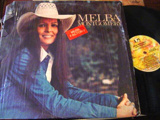MELBA MONTGOMERY - SELF TITLE - UA RECORDS { F 36