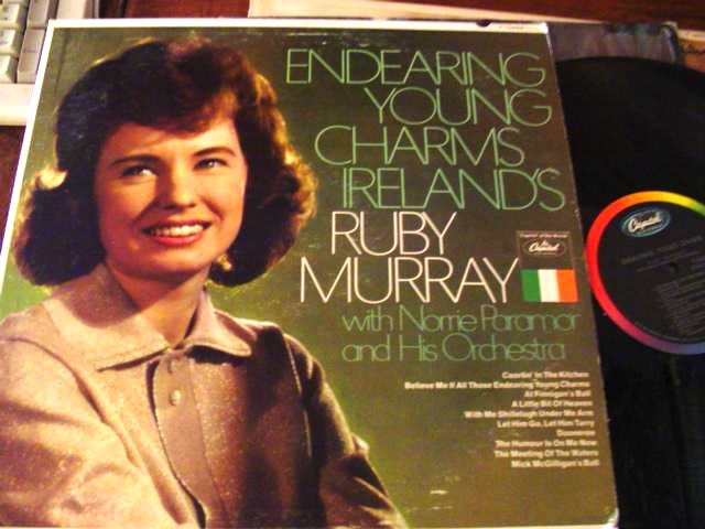 RUBY MURRAY - ENDEARING CHARMS IRELAND - CAPITOL { F 37