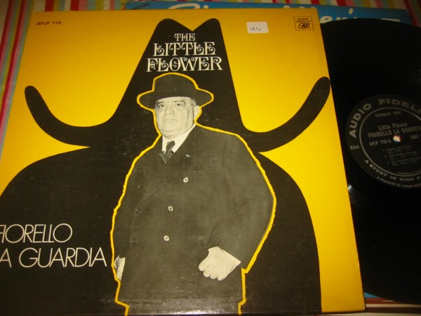 FIORELLO LA GUARDIA - THE LITTLE FLOWER - AF { 124