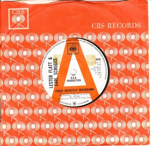 FLATT & SCRUGGS - FOGGY MOUNTAIN BREAKDOWN - CBS DEMO 3230