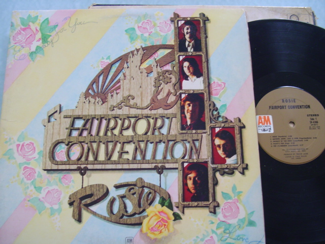 FAIRPORT CONVENTION - ESPECIALLY FOR YOU - A & M