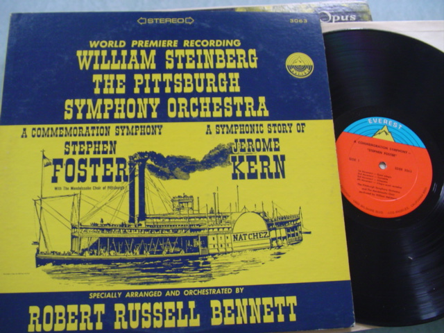 WILLIAM STEINBERG - CONDUCTS FOSTER & KERN - EVEREST