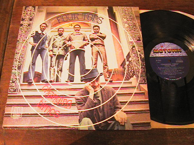 FOUR TOPS - CHANGING TIMES - MOTOWN - 1970 LP