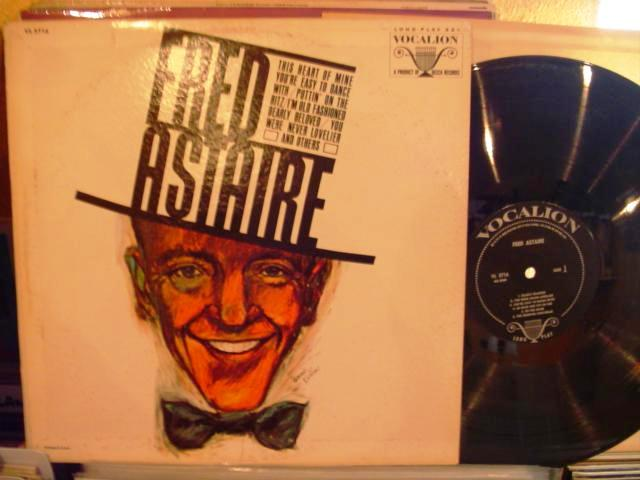 FRED ASTAIRE - RARE VOCALION LP - M 55