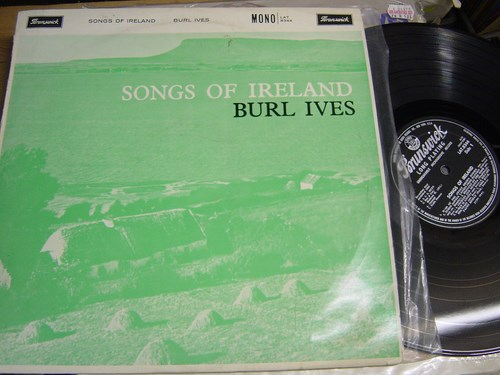 Burl Ives - Songs of Ireland - Brunswick LAT 8344 UK