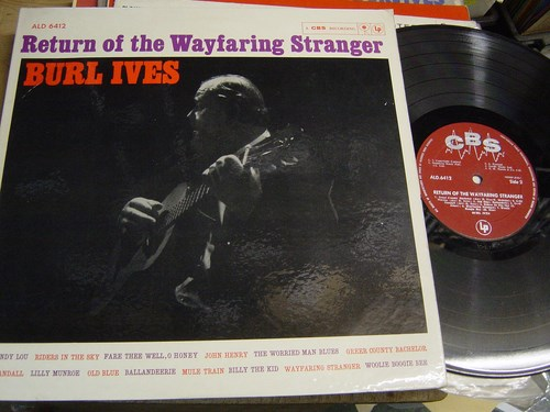 Burl Ives - Return of Wayfaring Stranger - CBS ALD 6412 UK