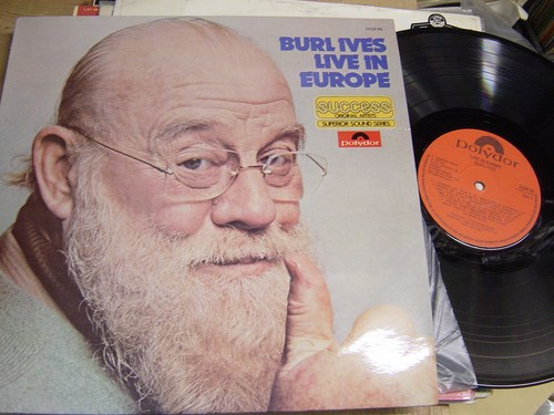 Burl Ives - Live in Europe - Polydor CESS 65 UK