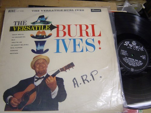 Burl Ives - The Versatile - Brunswick LAT 8381 UK