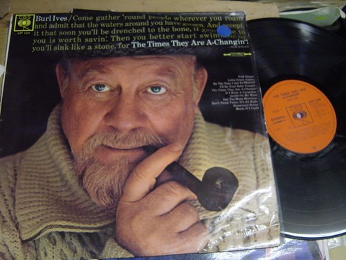Burl Ives - The Times they are a changin' - CBS ASF 1305 UK
