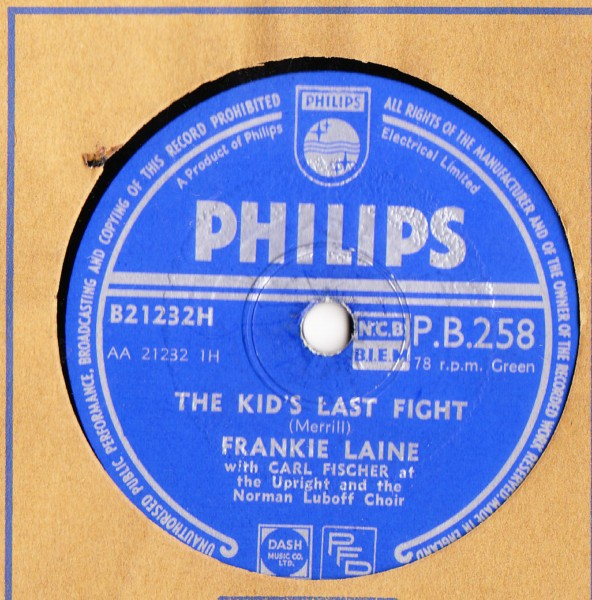 Frankie Laine - Long Distance Love - Philips UK
