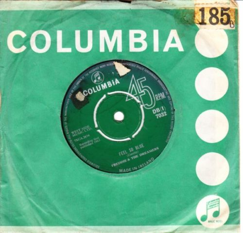 Freddie & Dreamers - Feel Blue - Columbia Irish Press 2905
