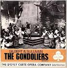 GILBERT & SULLIVAN - GONDOLIERS - ACE OF CLUBS DECCA