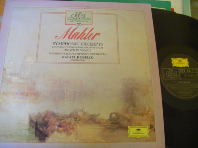20 - GREAT COMPOSERS - MAHLER SYMPHONIC EXCERPTS - DGG