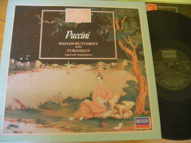 57 - GREAT COMPOSERS - PUCCINI BUTTERFLY TURANDOT - DECCA