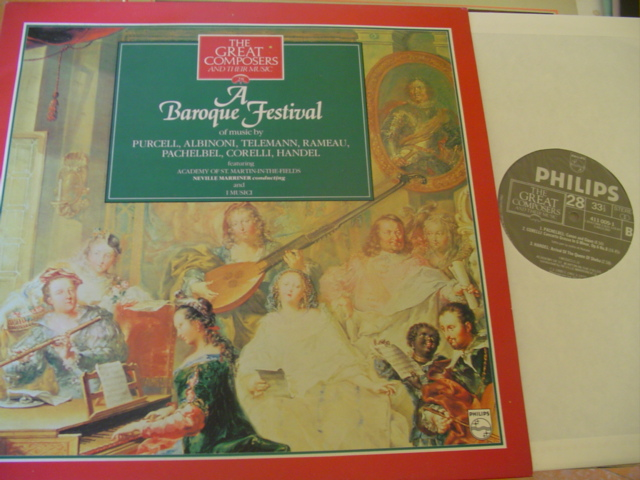 28 - GREAT COMPOSERS - BAROQUE FESTIVAL - PHILIPS