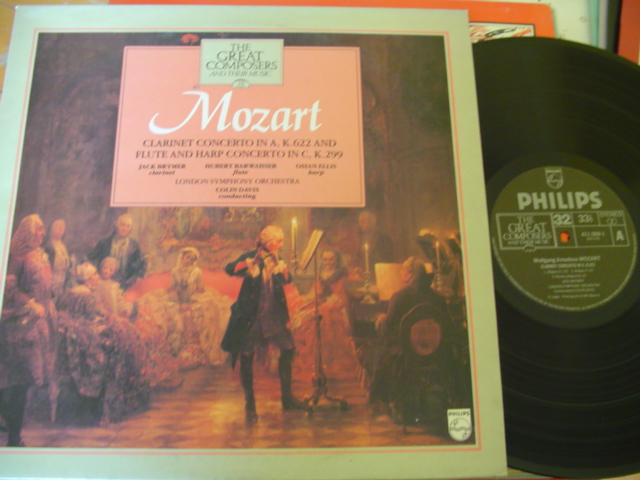 32 - GREAT COMPOSERS - MOZART CLARINET FLUTE - PHILIPS