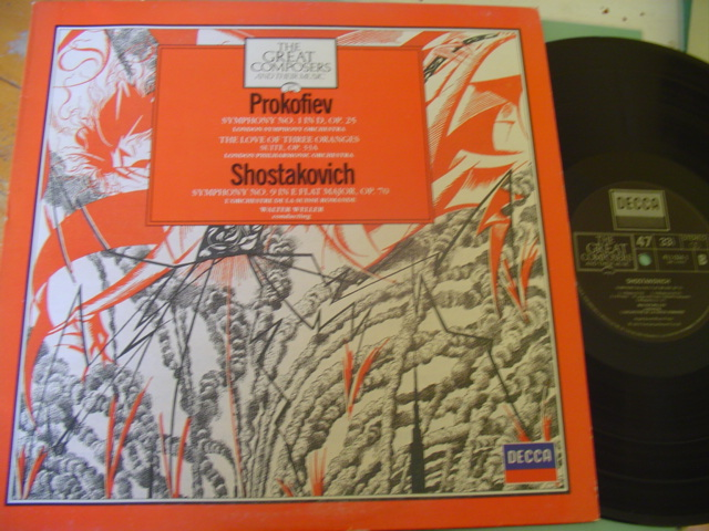 47 - GREAT COMPOSERS - PROKOFIEV SHOSTAKOVICH - DECCA