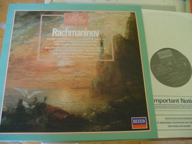 48 - GREAT COMPOSERS - RACHMANINOFF piano KATCHEN - DECCA
