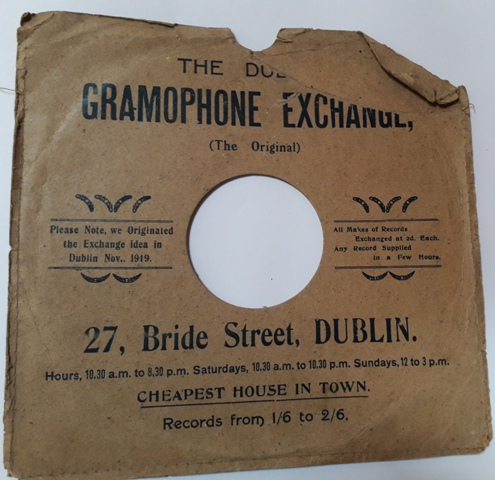 The Dublin Gramophone Exchange - 27, Bride Street Dublin