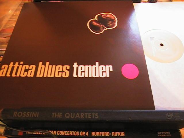 ATTICA BLUES - TENDER - MO WAX - MW 067 - 332