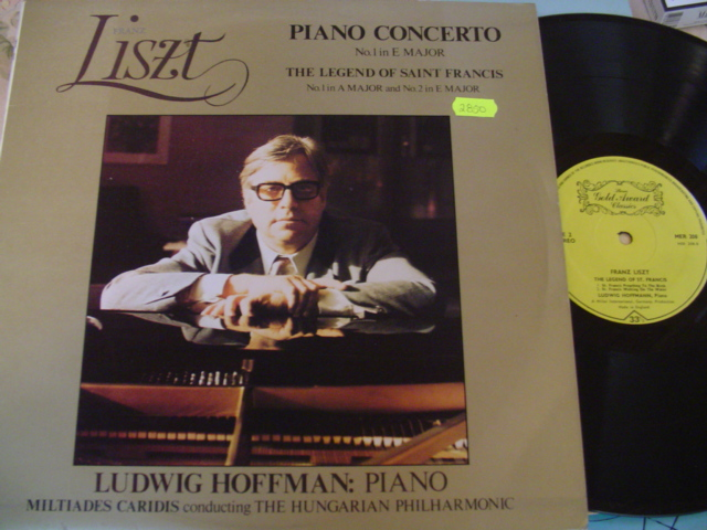 LUDWIG HOFFMAN - LISZT PIANO CONCERTO - GOLD AWARDS