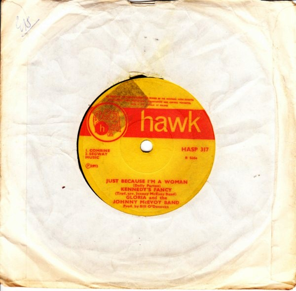 HASP 317 - Gloria & Johnny McEvoy Band - Hawk 1973