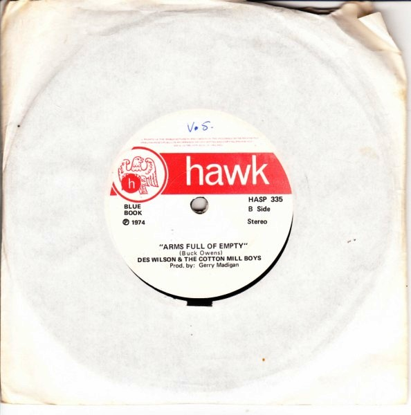 HASP 335 - Des Wilson & Cotton Mill Boys - Hawk 1974 - Click Image to Close