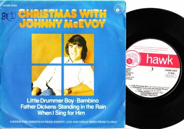 HASM 2002 - Johnny McEvoy - Christmas EP - Hawk 1974