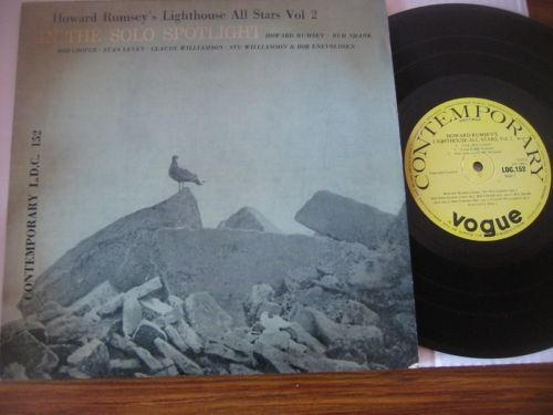 Howard Rumsey & Lighthouse All Stars - Contemporary UK 10 inch L