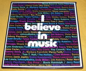 1 VARIOUS ARTISTS - I BELIEVE IN MUSIC - COLUMBIA 6LP