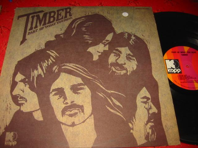 TIMBER - PART OF WHAT YOU HEAR - KAPP { C 47