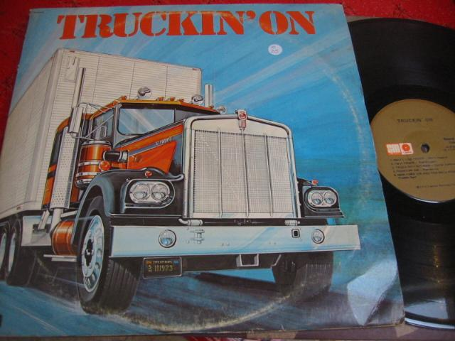 VARIOUS ARTISTS - TRUCKIN' ON - CAPITOL 2LP { C 48