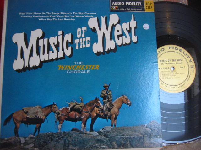 WINCHESTER CHORALE - MUSIC of the WEST - AF { C 34