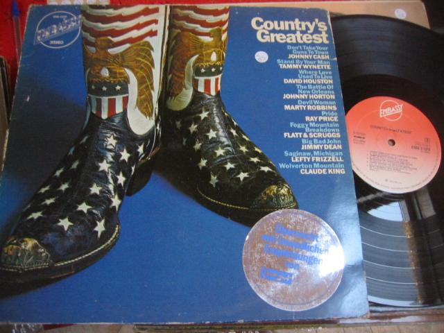 VARIOUS ARTISTS -COUNTRYS GREATS - EMBASSY { C 53