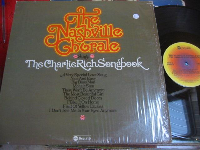 NASHVILLE CHORALE - CHARLIE RICH SONGBOOK - ABC { C 54