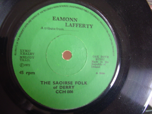 SAOIRSE FOLK OF DERRY - EAMONN LAFERTY - OAK DOVE