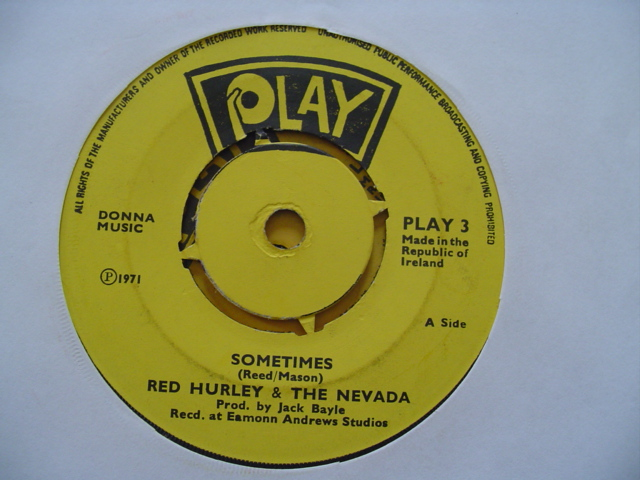 PLAY 003 - RED HURLEY & NEVADA - SOMETIMES -