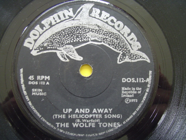 THE WOLFE TONES - UP AND AWAY - DOLPHIN DOS 112