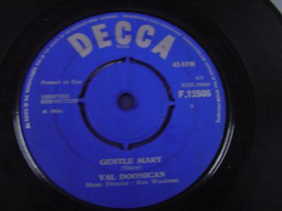 VAL DOONICAN - GENTLE MARY - DECCA { IP 315