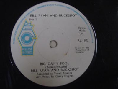 RL 0802 - BILL RYAN & BUCKSHOT - BIG DAMM FOOL - RELEASE